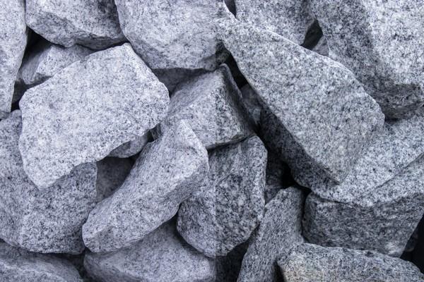Granit Grau Steinschlag / Schotter