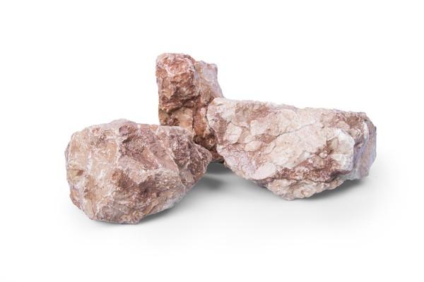 Marmor Orange Gabionensteine