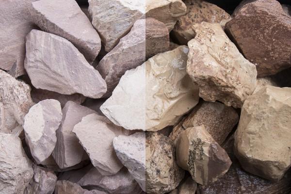 Savannen Steinschlag / Schotter