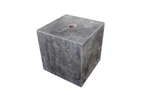 Wasserspiel Cubes 20 cm, poliert, gebohrt, schwarz