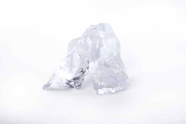 Glas Klar Gabionensteine