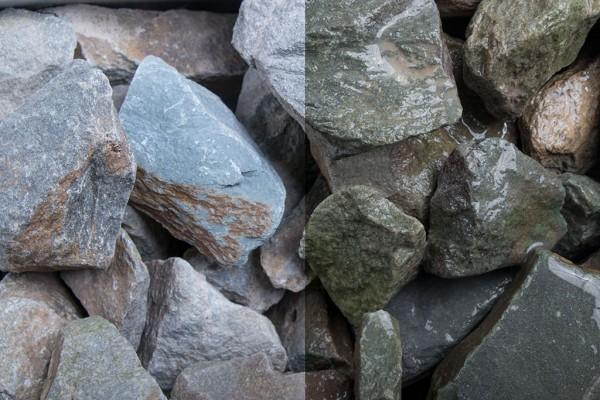 Grauwacke Steinschlag / Schotter