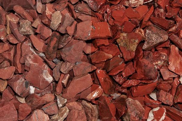 Red Jaspis Splitt