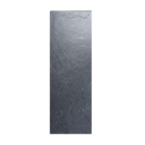 Sichtschutzplatten Schiefer 2,50 x 0,50 m / 4-seitig gesägt