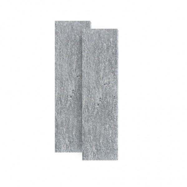 Sichtschutzplatten grau 2,50 x 0,50 m
