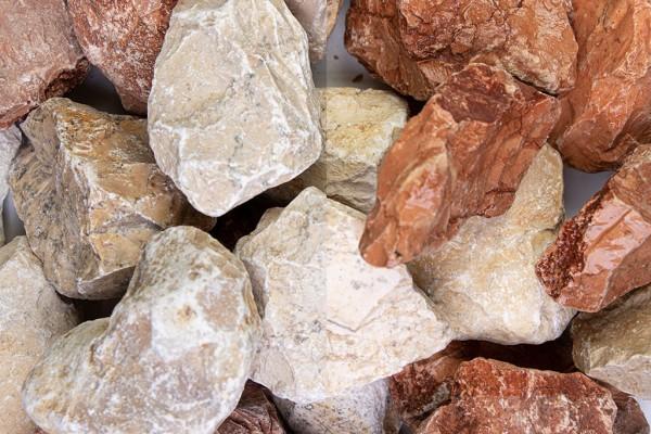 Mediterran Steinschlag / Schotter