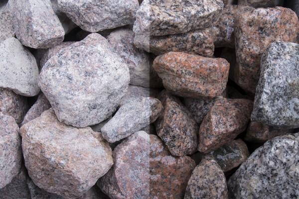 Schottischer Granitstein Steinschlag / Schotter