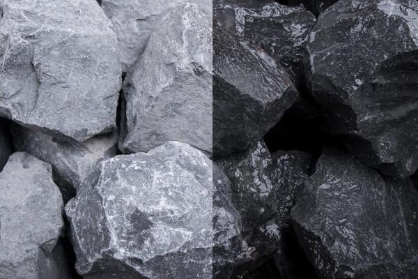 Basalt Steinschlag / Schotter