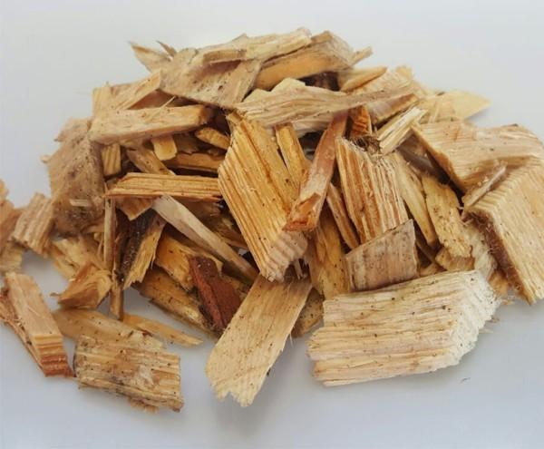 Hackschnitzel aus Holz