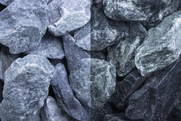 Marmor Grün Steinschlag / Schotter