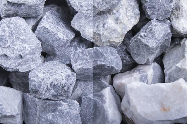 Kristall Blau Steinschlag / Schotter