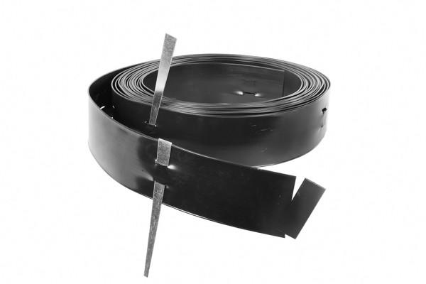 Flexible Randbegrenzung aus Kunststoff / Höhe 15,20 cm inkl. Spieße / 30,50 Meter / Denver
